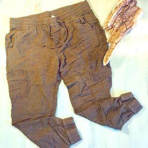 Old Navy jogger linen pants